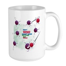 Cancer Survivor: Laughter Kills Bad Cells Mug