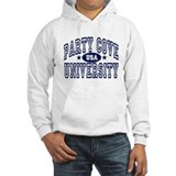 Party Cove Univ. (Blue) Hoodie
