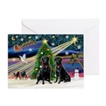 Xmas Magic & Lab PR Greeting Card
