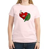 Love Half-Moon Conure T-Shirt