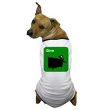 I dive dumpster diver Dog T-Shirt