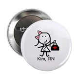 "Medical - Kim, RN 2.25"" Button"