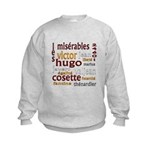 Les Miserables Kids Sweatshirt