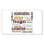 Les Miserables Sticker (Rectangle)
