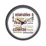 Les Miserables Wall Clock