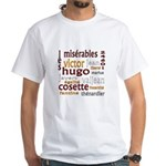 Les Miserables White T-Shirt