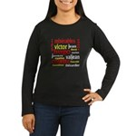 Les Miserables Women's Long Sleeve Dark T-Shirt
