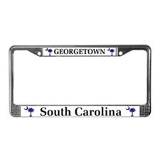 Georgetown South Carolina License Plate Frame