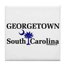 Georgetown South Carolina Tile Coaster