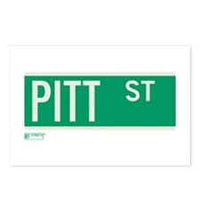 Pitt Street in NY Postcards (Package of 8)