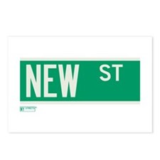New Street in NY Postcards (Package of 8)