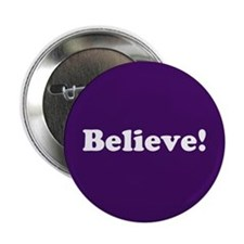 "Believe, Purple 2.25"" Button"