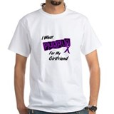 I Wear Purple For My Girlfriend 8 Shirt