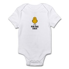 Ron Paul Chick Infant Bodysuit