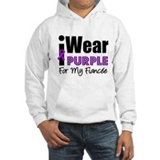 Purple Ribbon Fiancee Jumper Hoodie