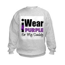 Purple Ribbon Daddy Sweatshirt