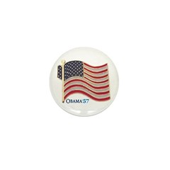 Obama 57-State Flag Lapel Pin