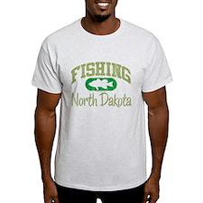 FISHING NORTH DAKOTA T-Shirt