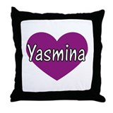Yasmina Throw Pillow