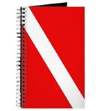 Scuba Diving Dive Flag Journal