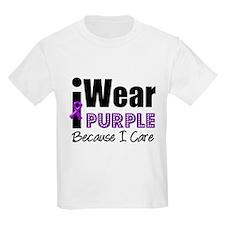Purple Ribbon Care T-Shirt