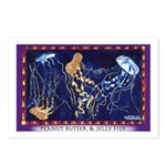 Peanut Butter & Jelly Fish Postcards (Package of 8