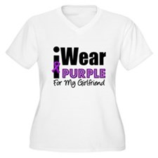 Purple Ribbon Girlfriend T-Shirt