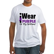 Purple Ribbon Girlfriend Shirt