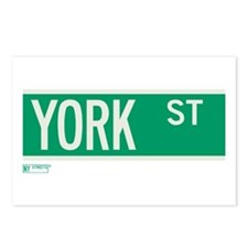 York Street in NY Postcards (Package of 8)