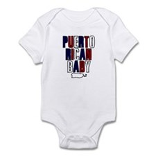New Puerto Rican Baby Infant Bodysuit