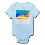 Surf Monkey Infant Bodysuit