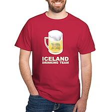 Iceland Drinking Team T-Shirt