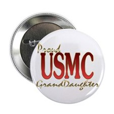 "usmc granddaughter 2.25"" Button (10 pack)"