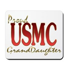 usmc granddaughter Mousepad