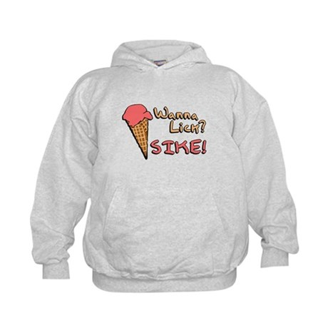 Wanna Lick? Kids Hoodie