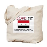 I Love My Syrian Grandma Tote Bag