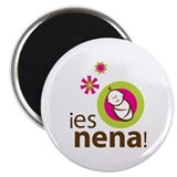 "Es Nena - It's a Girl 2.25"" Magnet (10 pack)"