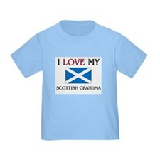 I Love My Scottish Grandma T