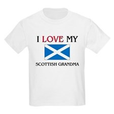 I Love My Scottish Grandma T-Shirt