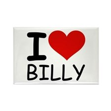 I LOVE BILLY Rectangle Magnet