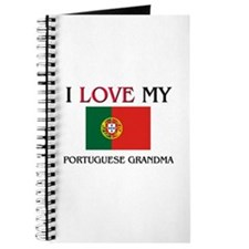 I Love My Portuguese Grandma Journal