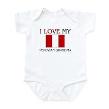 I Love My Peruvian Grandma Infant Bodysuit