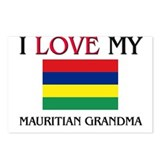 I Love My Mauritian Grandma Postcards (Package of