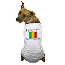 I Love My Malian Grandma Dog T-Shirt
