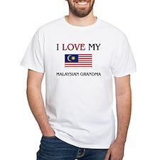 I Love My Malaysian Grandma Shirt