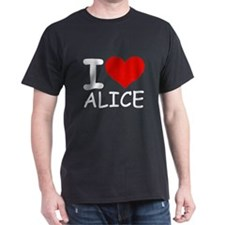 I LOVE ALICE T-Shirt