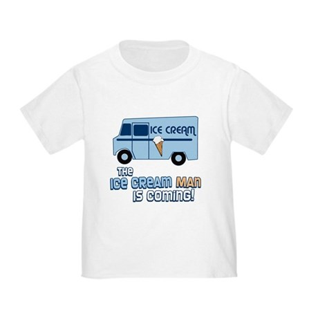 Ice Cream Man Toddler T-Shirt