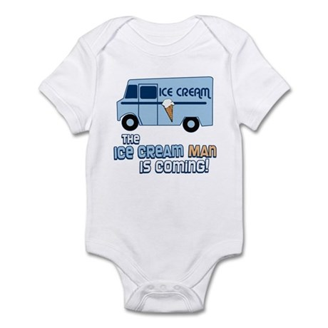Ice Cream Man Infant Bodysuit