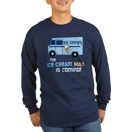 Ice Cream Man Long Sleeve T-Shirt