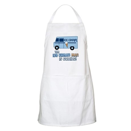 Ice Cream Man BBQ Apron